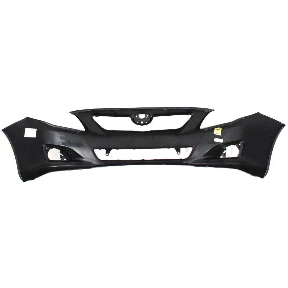 New TO1000343C CAPA Front Bumper Cover for Toyota Corolla 2009-2010