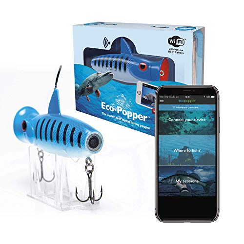 Eco-Popper | World's First Digital Fishing Popper | HD Underwater Camera w/Wireless Charging from Eco-Popper