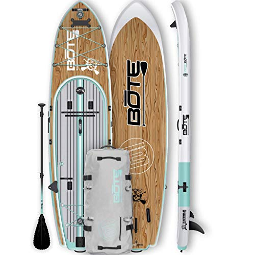 BOTE Rackham 124 Large Capacity Expedition Inflatable SUP (Bote Board)