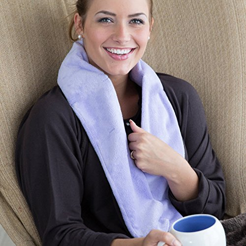 Aroma Wrap Heated or Cooled Herbal Neck Wrap On The Go Series (Lavender)