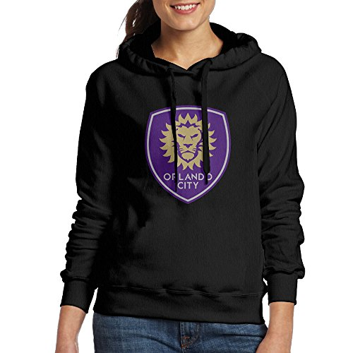 Women Orlando City Logo - Major League Soccer Hoodies Sweatshirts Cool Hoodies