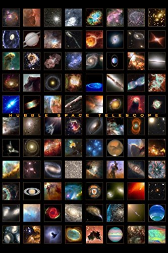 Hubble Space Telescope Astronomy Poster Print - Snapshots of a Universe - 24 ()