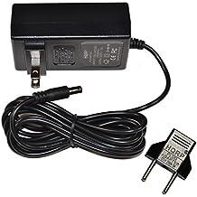 HQRP AC Adapter Power Supply for Boss GT-100 Amp Effects Processor ; Boss GT-10 Guitar Effects Processor ; Boss GT-10B Bass Effects Processor + Euro Plug Adapter