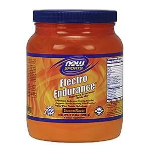 NOW Sports  Electro-endurance Energy Drink Mix, 2.2-Pound