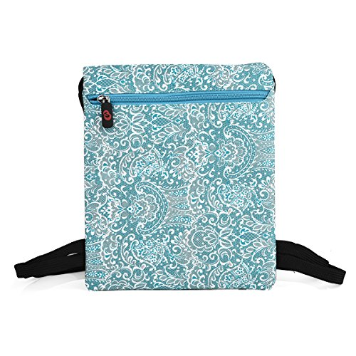 NuVur153; Universal Women's 10 inch Lace Print Backpack Bag Fits Fusion 5 9.7