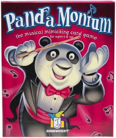Pandamonium Game by Gamewright CEACO