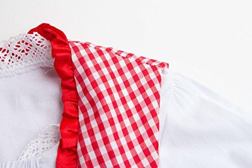 Oktoberfest Per Dirndl Adulti Da Bavarese Della Vestito Himone Ragazza Donna Tradizionale nbsp;pezzi Birra 3 Rot Costume Ax4XqB