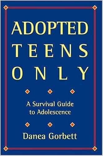 Descargar En Libros Adopted Teens Only: A Survival Guide To Adolescence Libro PDF