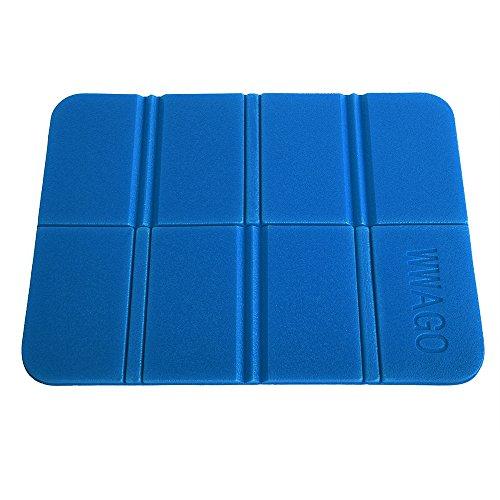 CN-Culturegg Outdoor Folding Camping Cushion Waterproof Sitting Mat, Blue
