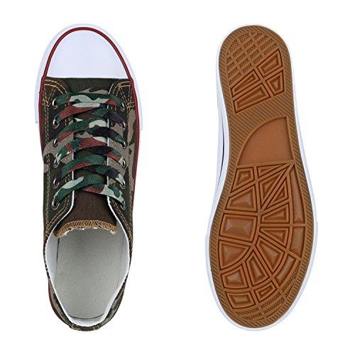 Stiefelparadies - Zapatillas de casa Mujer camuflaje