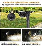 JESLED Solar Landscape Spot Lights, Warm