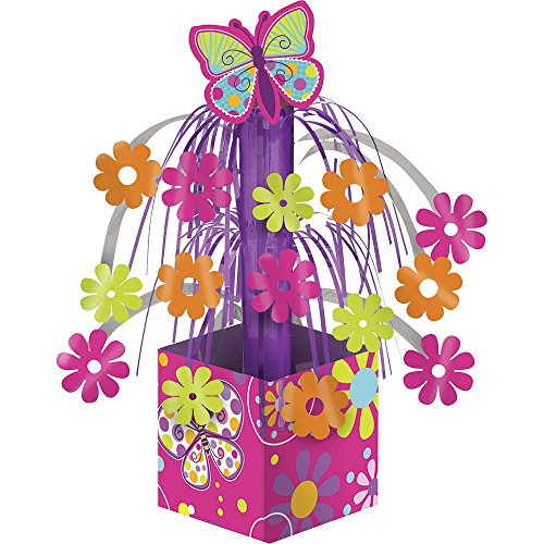 Butterfly Sparkle Mini Foil Cascade Centerpiece (1)