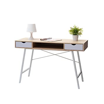 Exceptionnel Selsey Gavle   Desk / Scandinave Minimaliste Table / Au Design élégant Et  Moderne Blanc Et