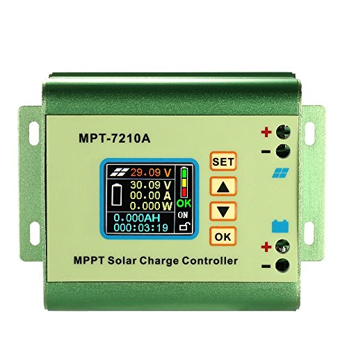 Mppt Solar Charge Controller - Docooler® MPPT Solar Panel Battery Regulator Charge Controller 10A