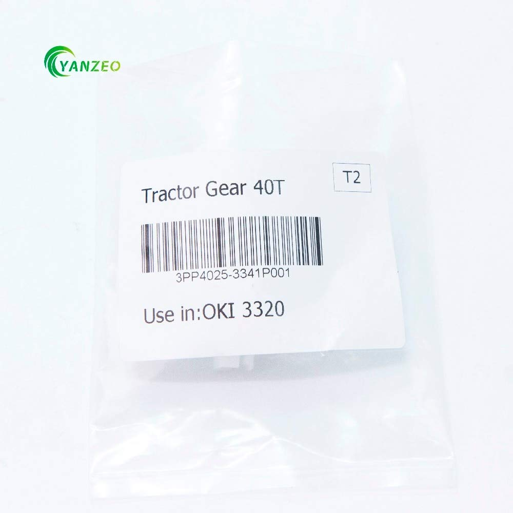 Printer Parts 3PP4025-3341P001 for OKI 3320 3321 3390 3391 5520 5521 5590 40T Tractor Gear by Yoton (Image #6)