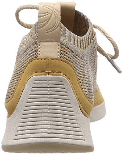 Native Marron Sneakers Tan Clarks Tri Light Basses Homme xv5wz