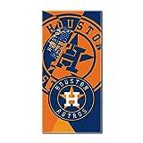 "MLB Houston Astros ""Puzzle"" Beach Towel, 34""x72"", Navy Blue"
