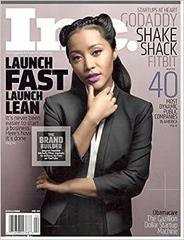Inc Magazine Michelle Phan Cover April 2016 Various Amazon Com Books