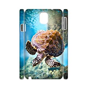 case Of Tortoise 3D Bumper Plastic customized case For samsung galaxy note 3 N9000