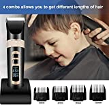 Mens Hair Clipper Cordless Professional Hair