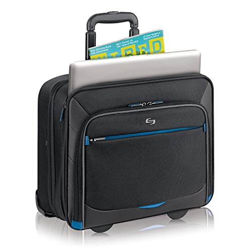 Solo Active 16 Inch Rolling Overnighter Case with Padded Laptop Compartment, Black by SOLO (Image #3)