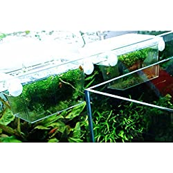 VORCOOL Fish breeding box Aquarium Self-floating Fish Breeding Isolation Box Breeder Hatchery Incubator (Transparent)