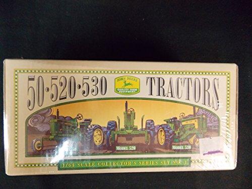 John Deere 50.520.530 Tractors by Ertl Company, 1996