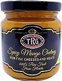 The Royal Gourmet Spicy Mango Chutney (8.3 Oz, Jar) Award-Winning All-Natural Chutney, Handmade in U.S.A Using Simple Ingredients, Florida Mangoes, Lemon Juice, Vinegar, Savory Spices, Pure Cane Sugar
