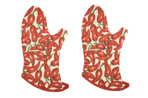 Now Designs Basic Mitts Chilies