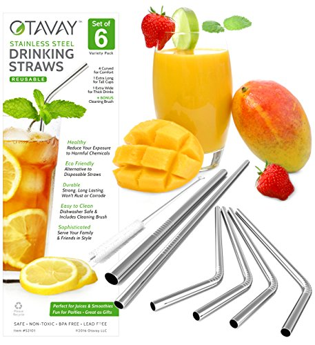 Otavay Stainless Steel Drinking Straws product image