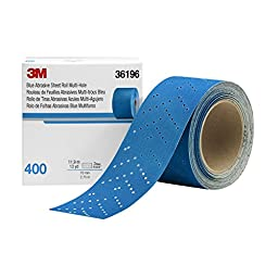 Hookit 36196 Blue Abrasive Sheet Roll (Multi-hole 2.75\