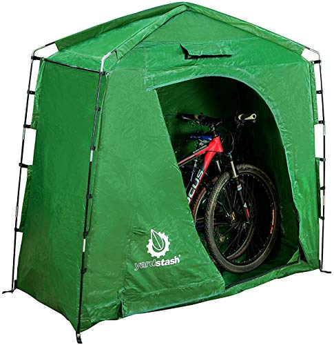The YardStash IV: Heavy Duty, Space Saving Outdoor...