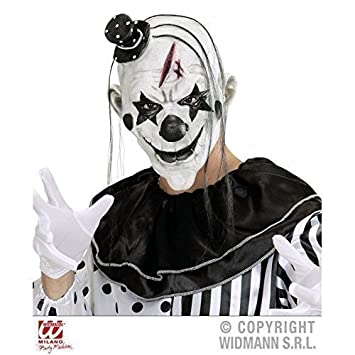 Laemilia Clown Maske Latex Halloween Party Kostum Deko Killer Clown