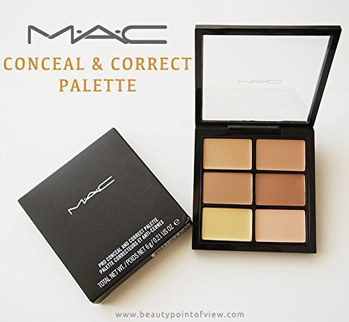 MAC Pro Conceal and Correct Palette ~ MEDIUM DEEP ~
