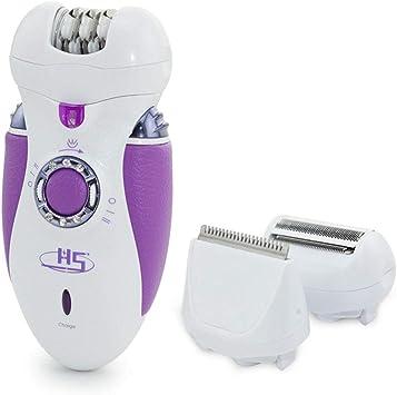 Depilación 3 en 1 para mujer, depiladora eléctrica de la ...