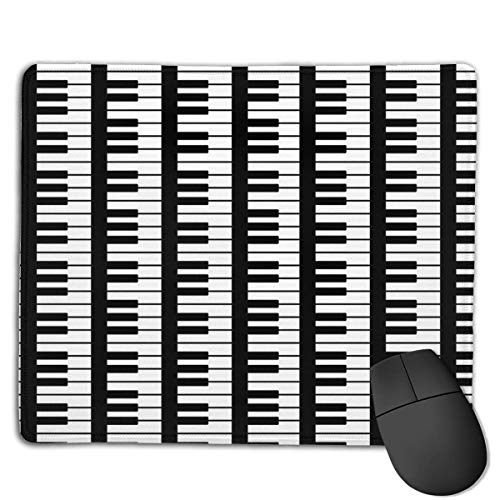 Piano Pattern High Speed Surface Desk Pad Gaming Mousepad -