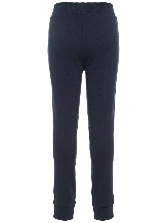 Name It Pantalone di tuta felpato con molla alla caviglia taglia 10a colore blue