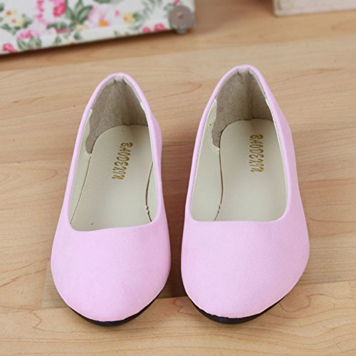 Multi Femme Danse Été couleur Sandales Plates Taill Grande Ballet De D'été Pink Chaussures Loisirs 6FwPEP