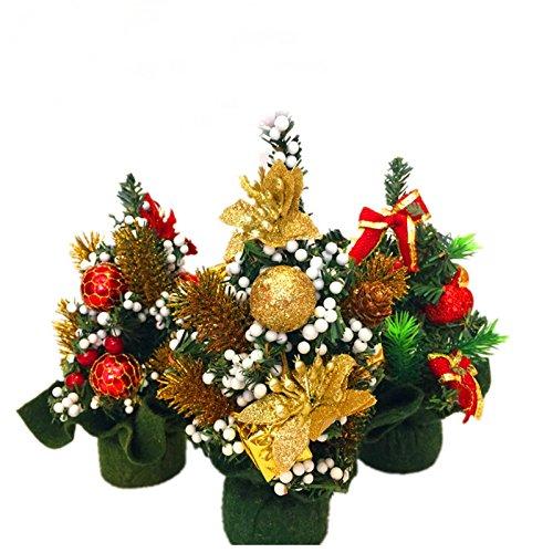 Sedeta Decorazione dell'albero di Natale Nuovo caldo 20CM mini ornamenti artificiale per le vetture di fascia alta luci dell'albero di Natale albero di Natale sono piccole albero di Natale artificiale
