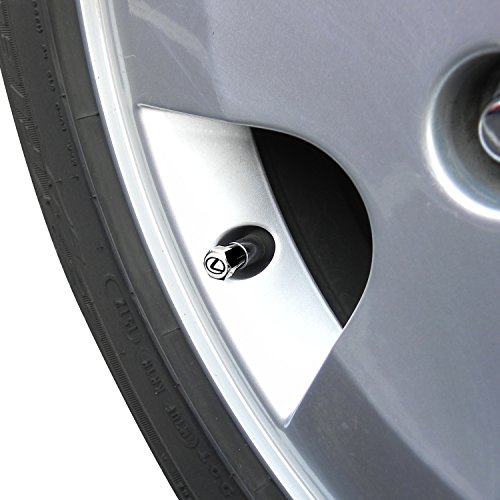 Lexus Logo Tire Stem Valve Caps Official Licensed by Lexus (Image #2)