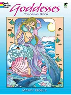 Goddesses Coloring Book Dover Books