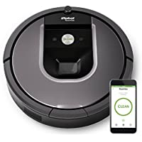 iRobot Roomba 960 Wi-Fi Connected Vacuum Cleaning Robot Works with Alexa (Gray)