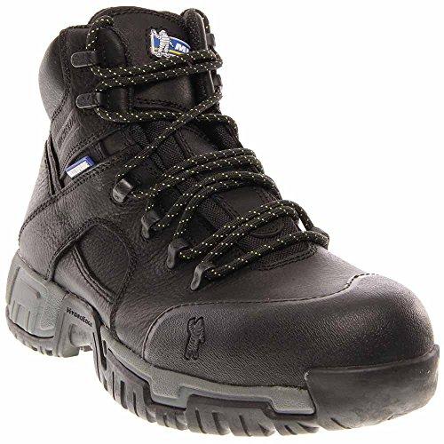 Michelin Mens Hydroedge Steel Toe Boots Black