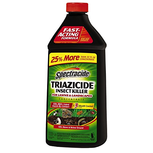 Spectracide HG-55829 Concentrate Triazicide Lawn & Landscapes Insect Killer, Black