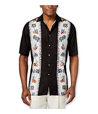 Campia Modern Design Short Sleeve Mens Shirts - Regular Sizes and Big and Tall Sizes Available