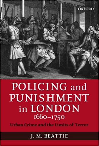 Amazon policing and punishment in london 1660 1750 urban policing and punishment in london 1660 1750 urban crime and the limits of terror fandeluxe Choice Image