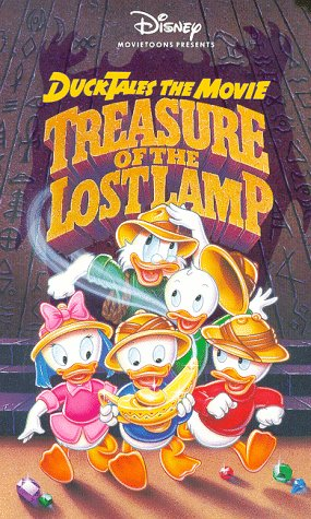 Price comparison product image Disney Movietoons Presents: Ducktales The Movie: Treasure Of The Lost Lamp [VHS]