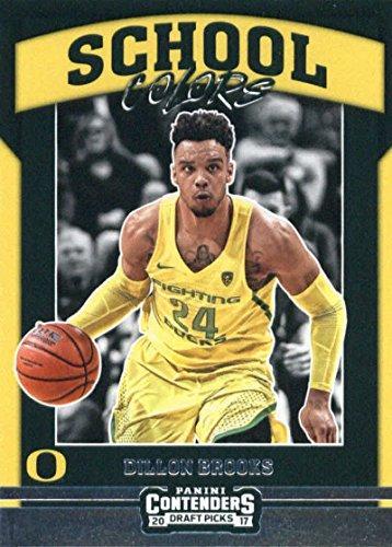 - Basketball NBA 2017-18 Panini Contenders Draft Picks School Colors #31 Dillon Brooks