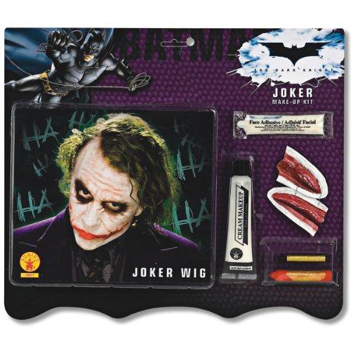 Joker Wigs (Deluxe Joker Wig & Make-Up Kit Costume Accessory)