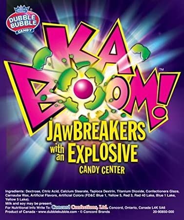 02d1db7d8de Image Unavailable. Image not available for. Color  KABOOM Jawbreaker Candy  ...